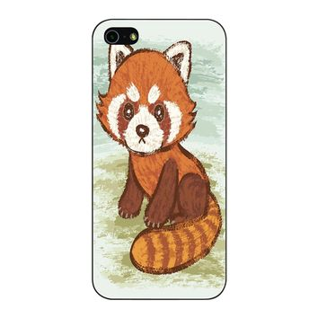 Red Panda iPhone 5/5S/SE Case