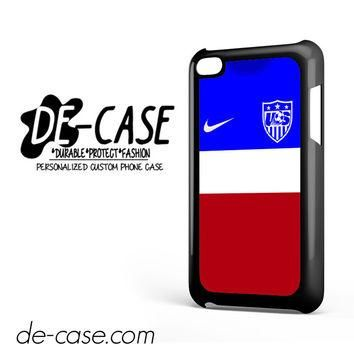 Usa Soccer Jersey For Ipod 4 Ipod Touch 4 Case Phone Case Gift Present YO