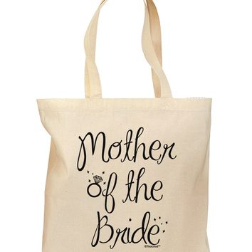 Mother of the Bride - Diamond Grocery Tote Bag
