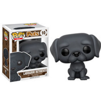 POP! PETS 10: LABRADOR RETRIEVER (BLACK)
