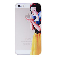 Snow White Holding Logo Clear Transparent Case For Apple Iphone 6/6s PLUS (5.5-inch)