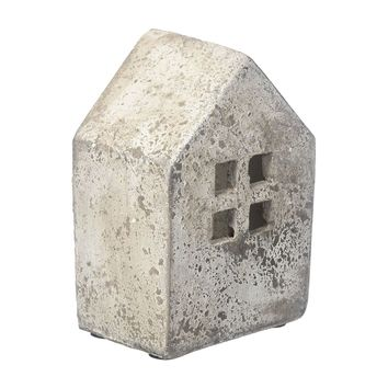 Stone House Candle Holder -- Small