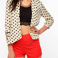 Urban Outfitters - Pins And Needles Silky Drapey Blazer