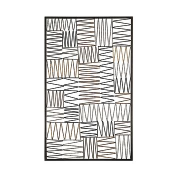 Heavy Metal Wire Work Wall Panel