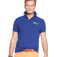 Polo Ralph Lauren Big & Tall Classic-Fit Embroidered Mesh Polo Shirt