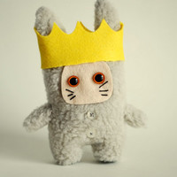 Where the wild things are Max Fur.Maurice Sendak. 12cm.