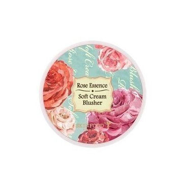 Rose Essence Soft Cream Blusher #06.Edge Rose by Skin Food Korean Beauty