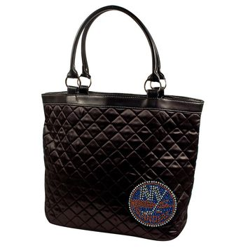 New York Islanders NHL Sport Noir Quilted Tote