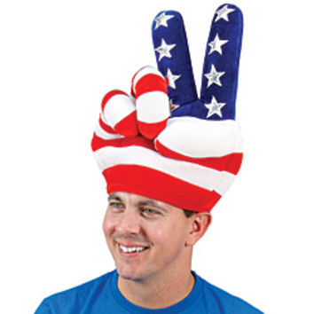 USA Patriotic Peace Hat