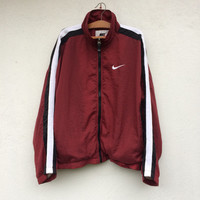 Vintage 90s Nike Big Logo Windbreaker Jacket