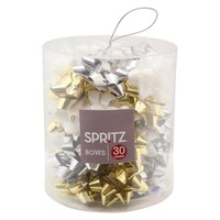Holiday Bow Tub - 30 Ct Gold/Silver/White : Target