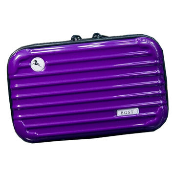 Personalized Cosmetic Bags Makeup Bags Cosmetic Pouches, Purple
