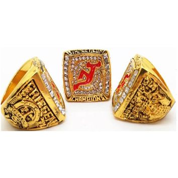 2003 Atlanta Falcons Hockey Champions Rings