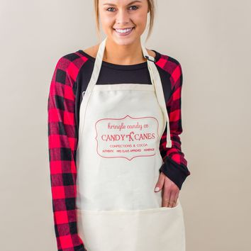 Candy Canes Apron