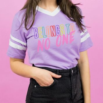 Belongs To No One Varsity Tee