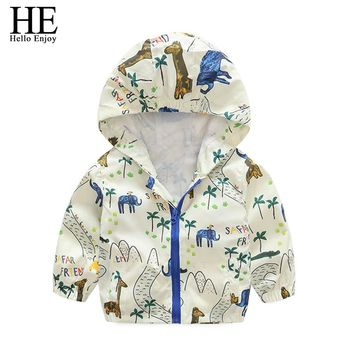 Boy/Girl's Hooded Casual Coats Winter