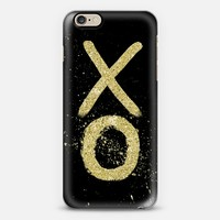 Gold XO iPhone 6 case by Tracey Coon   Casetify