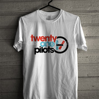 Twenty one pilots band logo tshirt -tri1 T- Shirt For Man And Woman / T-Shirt / Custom T-Shirt