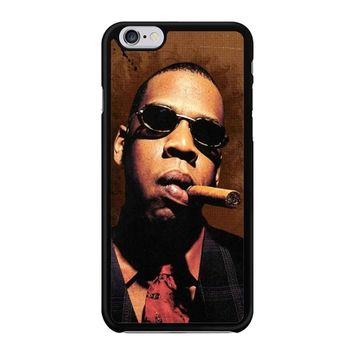 Jay-Z Cigar Glasses Tie Vest 01  iPhone 6/6S Case