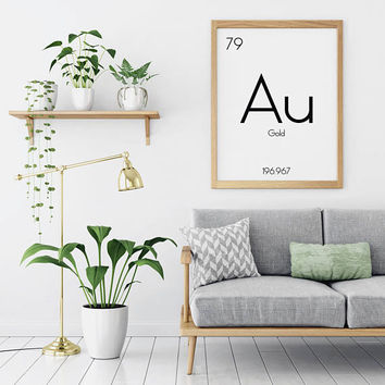 Wall Art Periodic Table Of Elements | Periodic Elements Prints |  Chemistry Poster | Chemistry Art Print | Science Wall Print | Wall Art