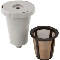 Gold Tone 1-Cup Reusable K-Cup Style Coffee Filter Starter Pack