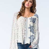 O'neill Ursula Womens Top White  In Sizes