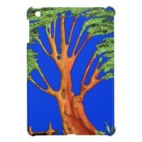Hakuna Matata Eco Blue Green Acacia Tree. Case For The iPad Mini