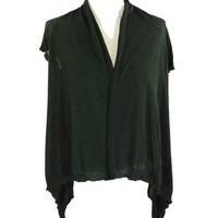 One A Short Sleeve Open Cardigan