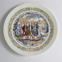 Limoges Collectors Plate, Lafayette Legacy Collection