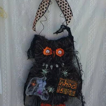 Halloween Owl Decorations, Freaky Cute Owl,Spooky Owl, Halloween theme, Halloween Owl decor, Halloween decoration, Halloween gifts