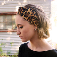 Leopard Beauty Vintage Headband