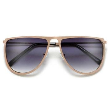 LUXE LUCY AVIATOR SUNGLASSES