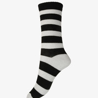 Metallic Striped Socks