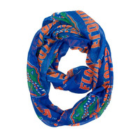 Florida Gators NCAA Sheer Infinity Scarf