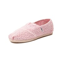Youth TOMS Classic Crochet Casual Shoe