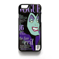 Vogue Maleficent iPhone 4 4S 5 5S 5C 6 6 Plus , iPod 4 5  , Samsung Galaxy S3 S4 S5 Note 3 Note 4 , and HTC One X M7 M8 Case