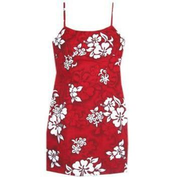 seastar hawaiian spaghetti dress