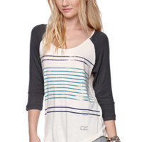 Roxy Stripe Side Raglan Tee at PacSun.com