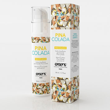 Pina Colada Warming Gourmet Massage Oil