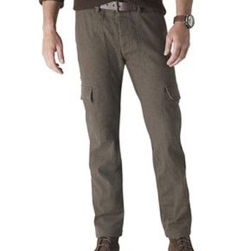 Dockers Alpha Khaki Pants, Slouch Cargo - Olive Night Heather - Men's