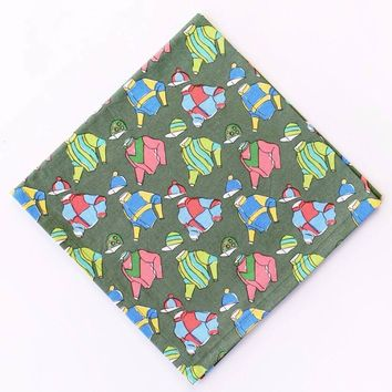 Vintage Racing Silks Napkins (Set of 4)