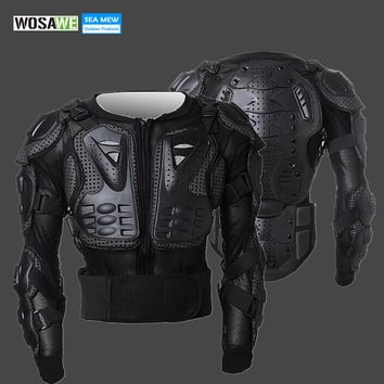 WOSAWE 2018 Snowboard Skiing Professional Motorcycle Body Protection Motorcycle Racing Armor Chest Protective Skiing Jacket Gear
