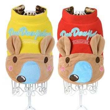 Dog Winter Cute Character Jumpsuit