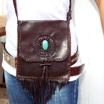 native american bag, Handmade leather native american bag, leather bag, bag, handmade leather bag, fashion bag, fashion, western leather bag