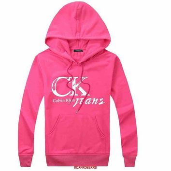 VONE055 Calvin Klein Woman Men Hooded Top Sweater Hoodie Sweatshirt