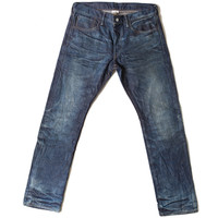 Doran Indigo Dirty Dip Slim Fit