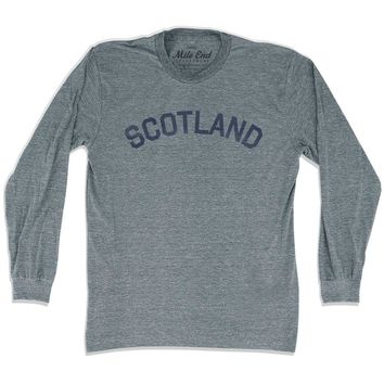 Scotland City Vintage Long Sleeve T-shirt