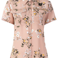 Rochas Floral short-sleeved Blouse - Farfetch