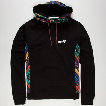 Neff Furyous Mens Hoodie Black  In Sizes