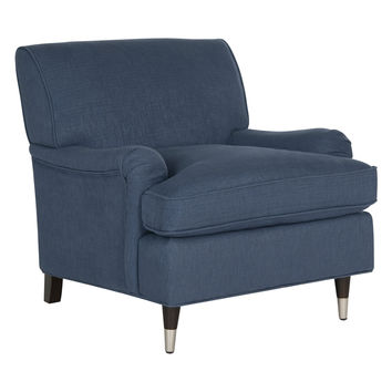 Safavieh Chloe Club Chair - Dark Blue/Navy